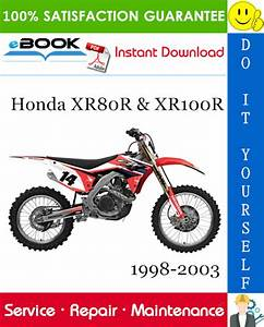 Best  U2606 U2606 Honda Xr80r  U0026 Xr100r Motorcycle Service Repair