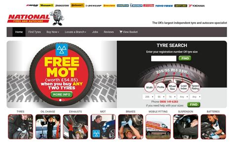 National Tyres And Autocare Discount Codes, Sales