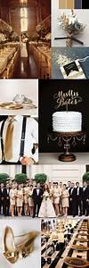 50 trendiest gold wedding ideas elegant glam With black and gold wedding ideas