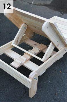 sun lounger diy furniture projects diy outdoor