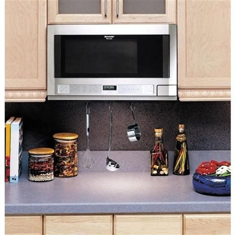 R1214T   Sharp 1.5 cu. ft. Over the Counter Microwave