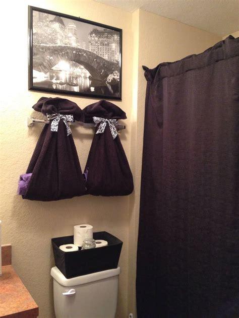 kids bathroom cute idea  hang  towels