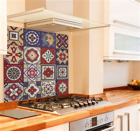 kitchen tiles and splashbacks glass buy printed glass splashbacks mexican tiles 6287