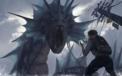 Pokemon Wlop Wallpapers Deviantart Artist 4k Backgrounds