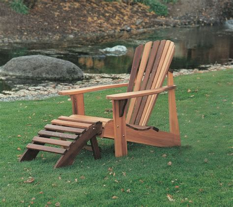 wood types for adirondack chairs wood country