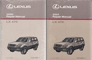 2001 Lexus Lx 470 Wiring Diagram Manual Original