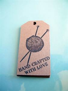 17 best images about tags for knitting on pinterest free for Hand knit with love labels