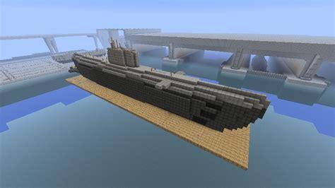 Minecraft U Boat Mod by U Boot Xxi Submarine Minecraft Project