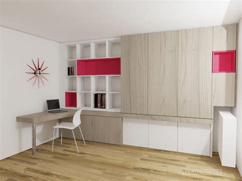 bureau biblioth ue int r création de bibliothèques bureaux meubles salon sur