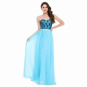 cheap floor length corset appliques blue long bridesmaid With dress for party wedding