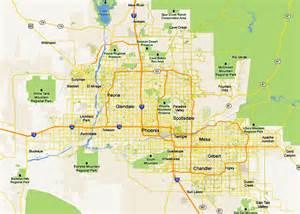 Phoenix Valley Zip Code Map