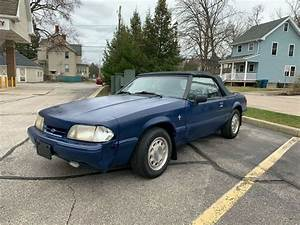 1992 Ford Mustang LX 4 Cylinder Convertible - Classic Ford Mustang 1992 for sale