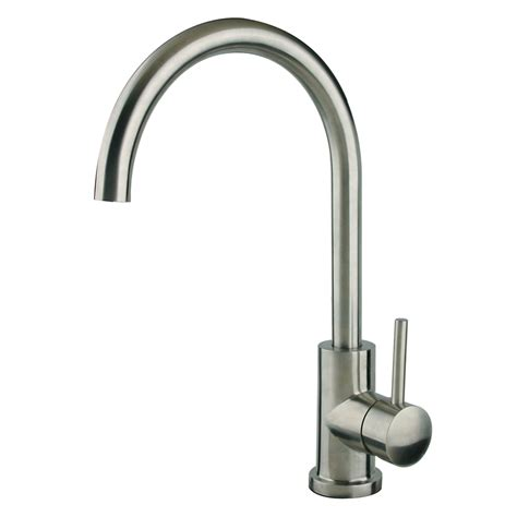stainless steel faucets kitchen shop superior sinks stainless steel 1 handle deck mount