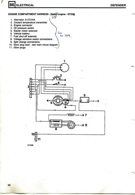 Hk395 Subwoofer Wiring Diagram by Land Rover 90 V8 3 5 Carb Wiring Diagram Needed