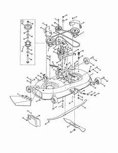 42 U0026quot  Mowing Deck Diagram  U0026 Parts List For Model 13ax11ch056 Cub