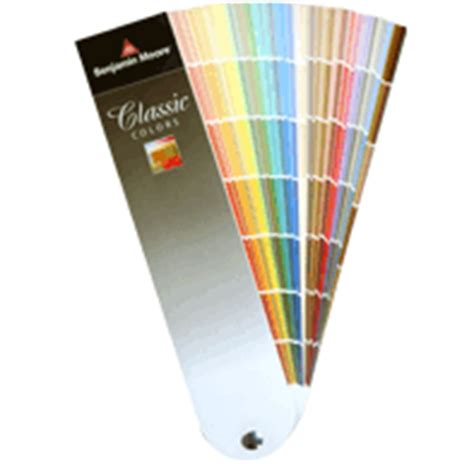 benjamin moore classic colors fan deck historical colors