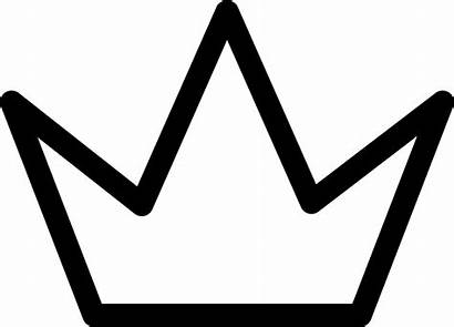 Crown Outline Svg Simple Icon Onlinewebfonts