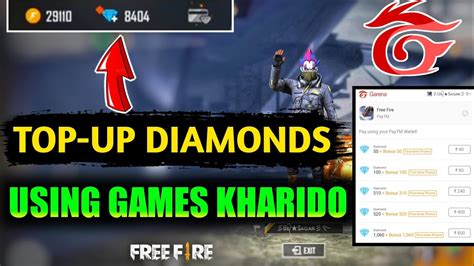 Free fire was also a recipient of the. How To Buy Diamonds In Free Fire Using Games Kharido ...