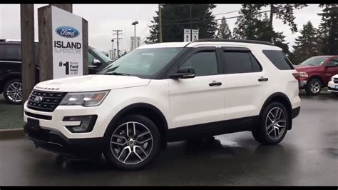 2017 Ford Explorer Sport + Power Folding 3rd Row Seats