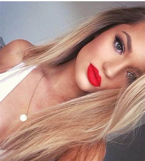 wear red lipstick  step  step tutorials