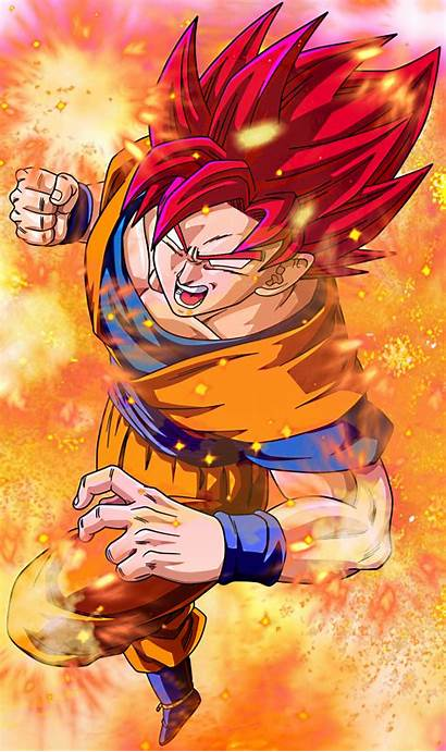 Goku Super Saiyan God Wallpapers Sai Wallpapersafari