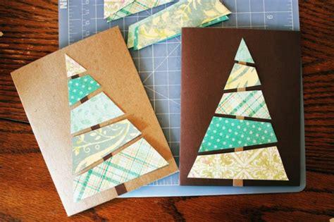 ideen weihnachtskarten basteln 1001 sch 246 ne weihnachtskarten selber basteln