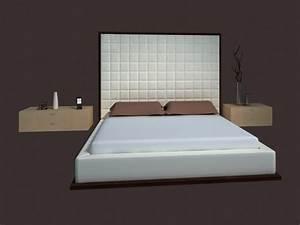Bed Design Furniture Modern Bed 3d Model 3dsmax Files Free Download