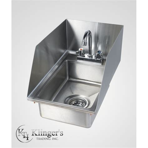 Splash Guard Kitchen Sink by Drop In Sink W Splash Guard Klingerstrading