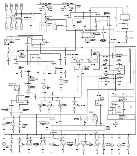 Cadillac Eldorado Wiring Diagram Circuit