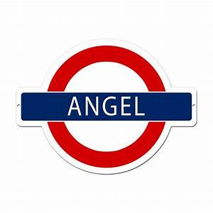 Angel Tube Station London Underground Tin Metal Sign :: 21 ...