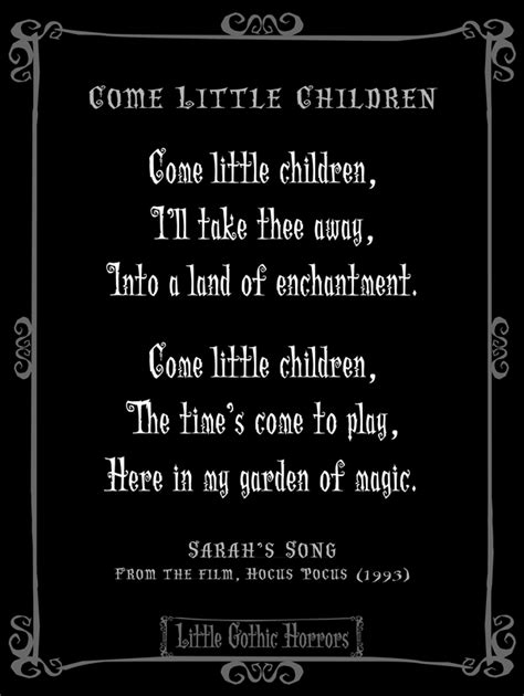 Spooky Tombstone Sayings For Halloween by Little Gothic Horrors Come Little Children I Ll Take