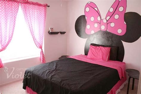 minnie mouse bedroom ideas for little girls and you