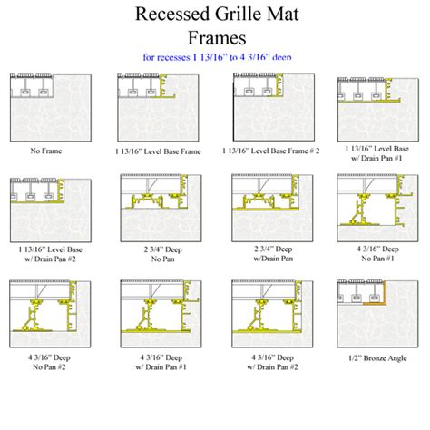 Waterhog Commercial Floor Mats by Pedigrid Mats Are Pedigrid Recessed Grids American Floor