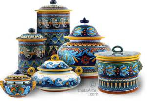 tuscan style kitchen canisters tuscan style canisters handcrafted tuscan canisters personalized canisters from italy