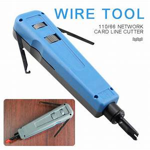 Impact Punch Down Tool 110    66 Blade Network Cable Cat5e