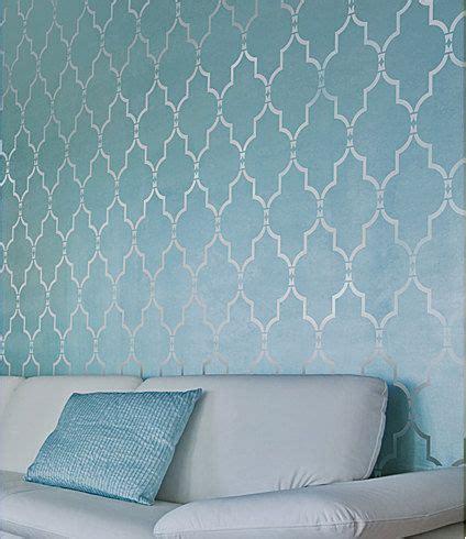 wall stencil designs marrakech trellis wall stencil reusable stencils
