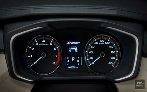 mitsubishi xpander speedometer otofreak