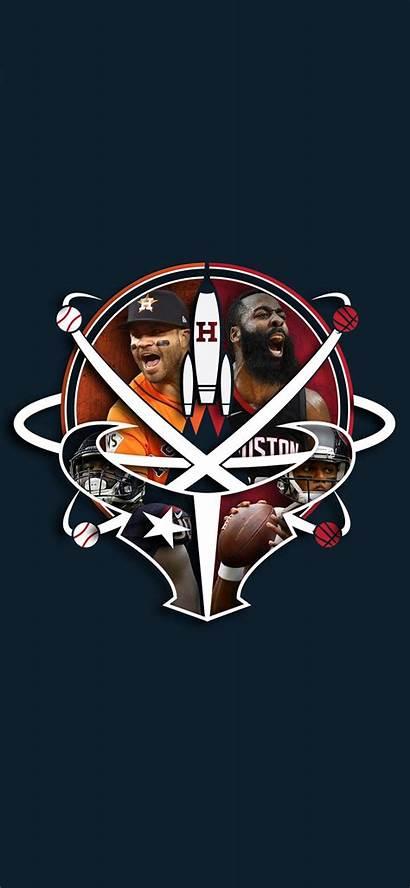 Texans Rockets Iphone Astros Desktop Hype Fans