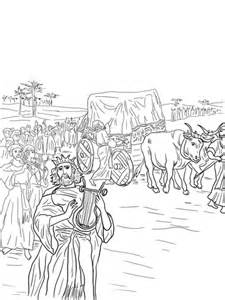 david   ark   covenant coloring page