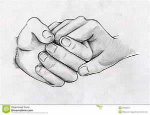 Images For > Pencil Drawing Of Couple Holding Hands ...