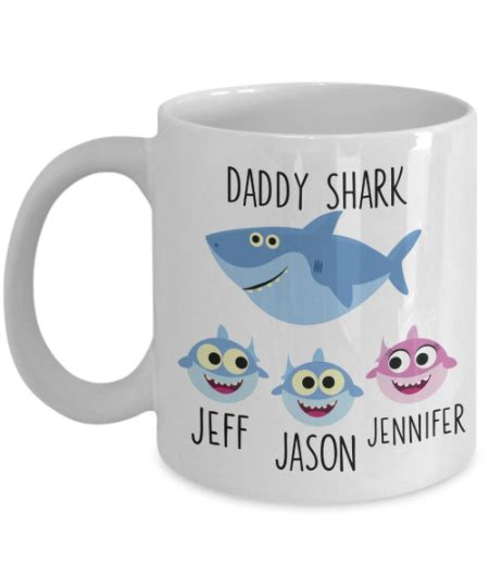 We did not find results for: Personalized Daddy Shark Mug for Men - Cute Baby Shark ...