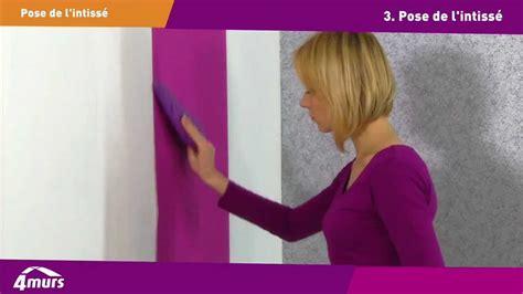 comment poser du papier peint intisse youtube