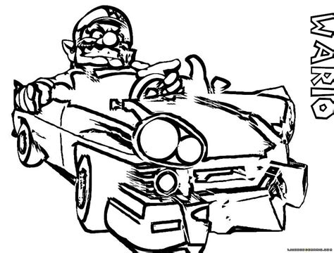 Paper Mario Sticker Star Coloring Pages - Sanfranciscolife