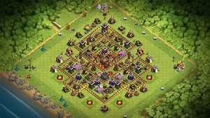 Th10, One, Of, The, Most, Classic, Th10, Bases, Best, All, Round, Base, At, Th10, Cocbaselayouts