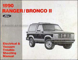 Ford Ranger Bronco Electrical Troubleshooting