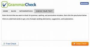 Online Editor  U2013 Grammar Checker