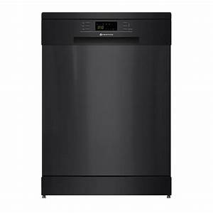 600mm Freestanding Dishwasher  Led Display  Black