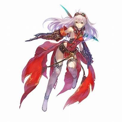 Azure Koei Tecmo Nights Characters Weapons Character