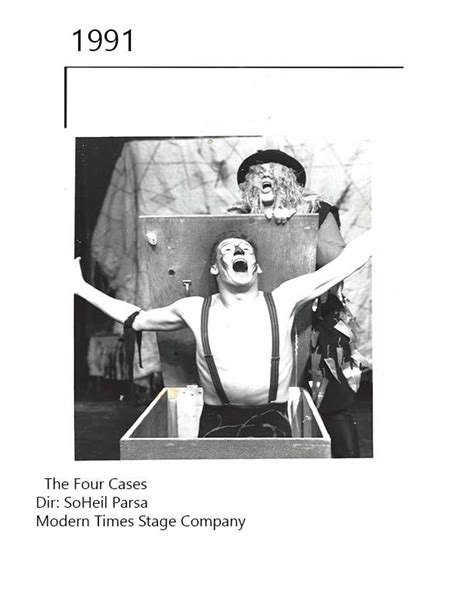 the four cases by soheil parsa 1991 modern times stage company photo credit soheil parsa
