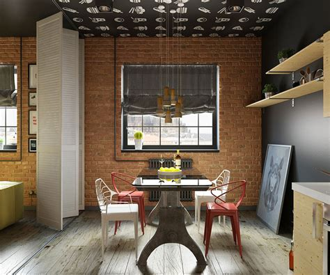Come Arredare Una Sala Da Pranzo by Come Arredare Una Sala Da Pranzo In Stile Industriale